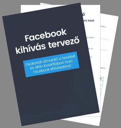 Facebook kihívás tervező